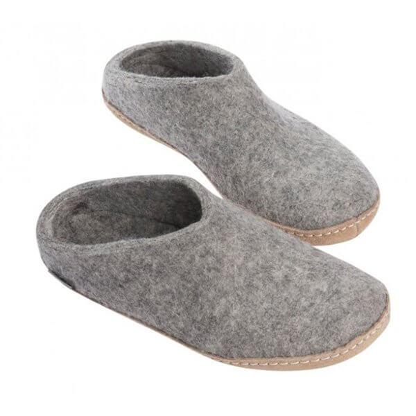 pantoffel-grau