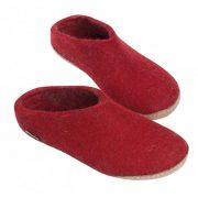 pantoffel-rot